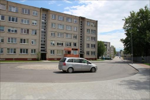 Atnaujinta Veterinarijos gatvė tapo šiuolaikiška ir viena iš gražiausių mieste