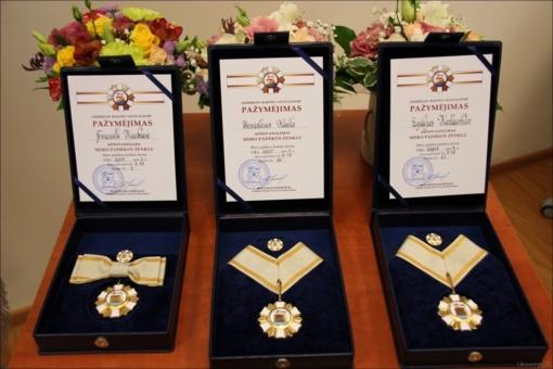Apdovanoti nusipelnę ukmergiškiai