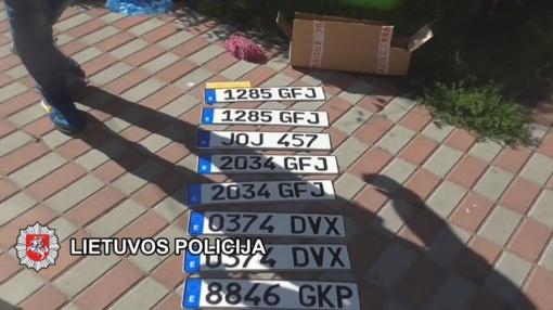 Klaipėdos kriminalistai baigė ypač sudėtingą automobilių vagysčių tyrimą (vaizdo reportažas)