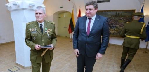 Apdovanotas jurbarkietis kariškis