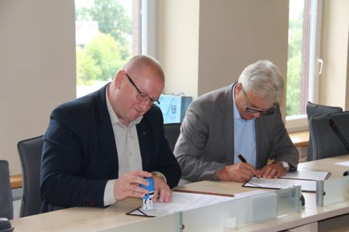 Pasirašyta bendradarbiavimo sutartis su Utenos teritorine darbo birža