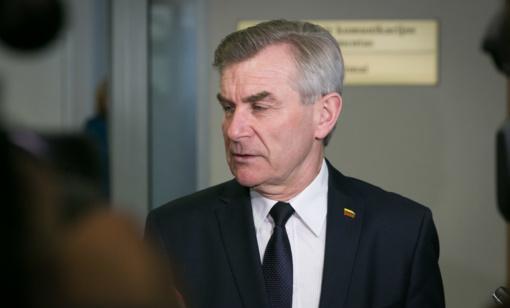 V. Pranckietis siūlys keisti Vyriausybės valandos laiką Seime