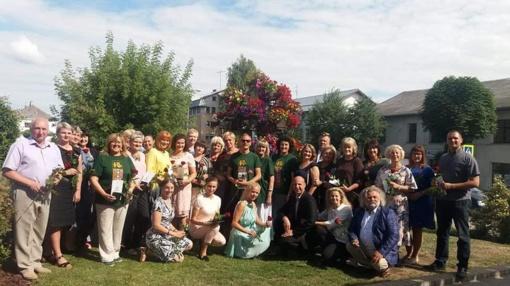 Šakiuose pagerbti šimtmečio dainų šventės dalyviai