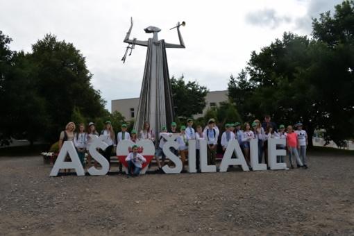 Trečioji vaikų iš Ukrainos grupė šią vasarą lankėsi Šilalės rajone