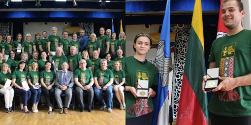 Už indėlį kuriant Šimtmečio dainų šventę Panevėžio rajono atstovams – medaliai ir padėkos