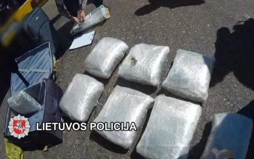 Klaipėdoje nustatyti ir suimti tarptautine narkotikų kontrabanda įtariami asmenys