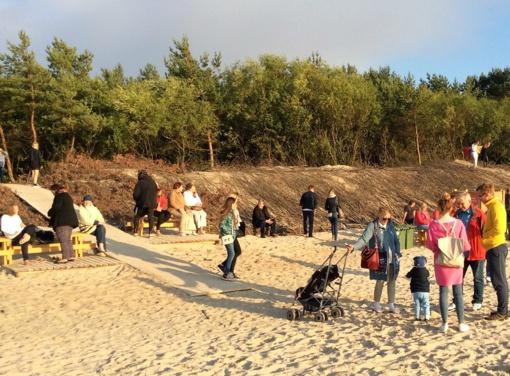 Įgyvendinti Palangos paplūdimio ir apsauginio kopagūbrio stabilizavimo darbai
