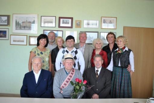 Joniškyje pasveikintas ilgaamžis karo veteranas