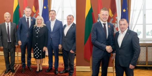 Zarasų meras dalyvavo Lietuvos merų pusryčiuose