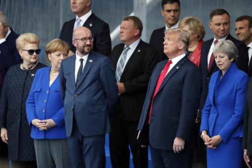 D. Grybauskaitė: D. Trumpo pozityvi agresija NATO valstybėms dėl gynybos yra sėkminga