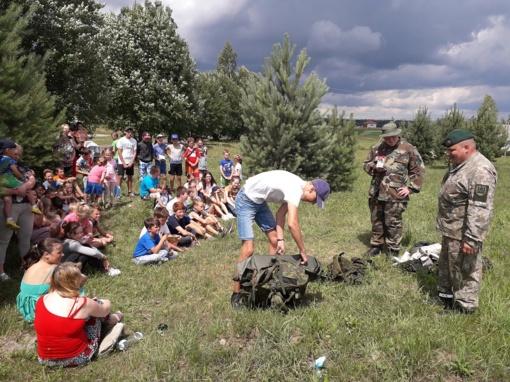 Edukaciniai renginiai Gerviškių seniūnijos vaikams