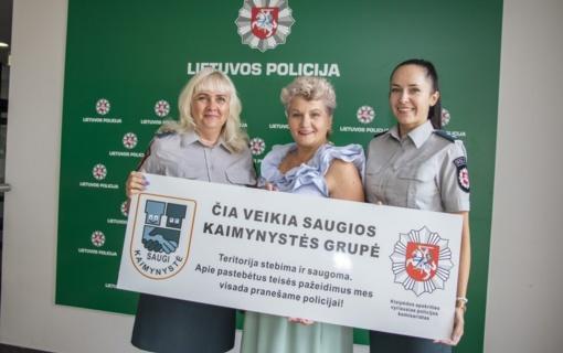 Policija ragina tikėti Saugios kaimynystės nauda