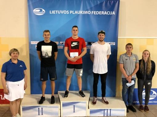 Panevėžiečių triumfas Lietuvos plaukimo čempionate