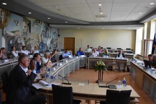 Utenoje vyko Utenos regiono plėtros tarybos posėdis