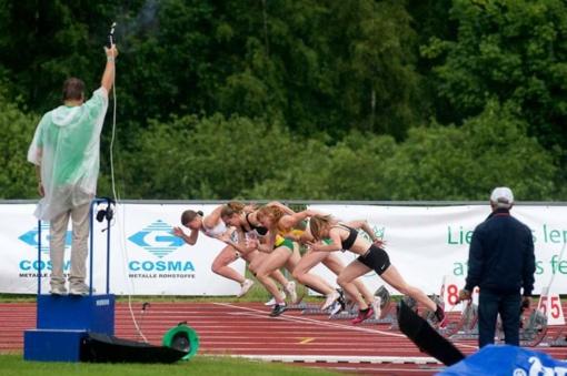 Bėgikė A. Andriukaitytė Suomijoje pagerino tris Lietuvos rekordus