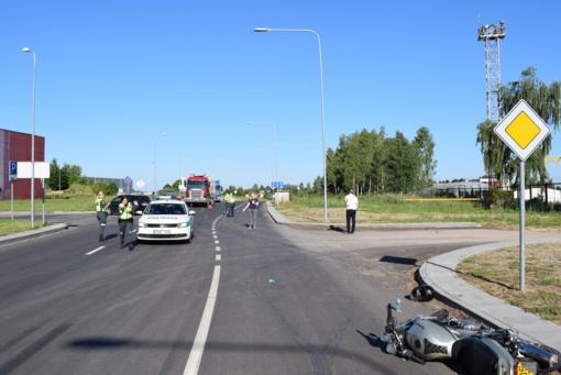 Alytaus policija ieško eismo įvykio liudytojų