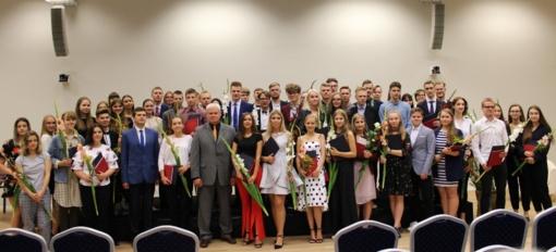 Pagerbti geriausi Klaipėdos abiturientai