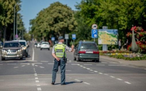 Per savaitę Lietuvos keliuose žuvo vienas žmogus, 86 sužeisti