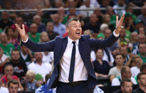 Geriausio Eurolygos trenerio rinkimuose Š. Jasikevičius užėmė antrąją vietą
