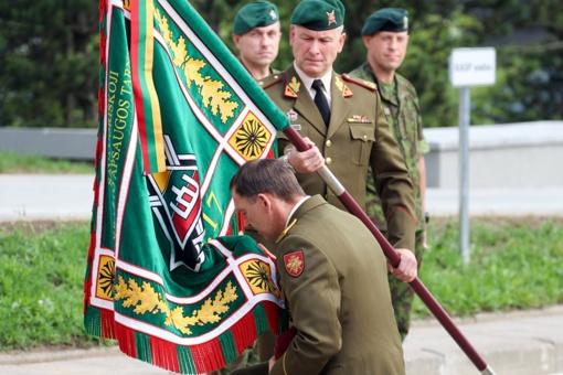 Krašto apsaugos savanorių pajėgoms vadovaus pulkininkas leitenantas Dainius Pašvenskas