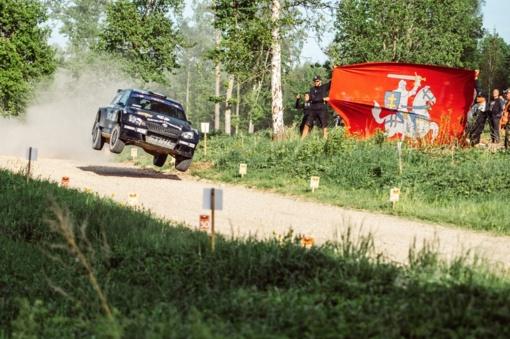 Estijos ralyje - B. Vanago nesėkmė