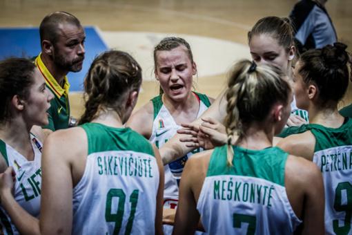 Lietuvos 20-metės krepšininkės iškovojo kelialapį į aukščiausią divizioną