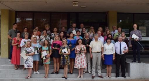 Dėkota dainų šventėje dalyvavusiems kolektyvams ir jų vadovams