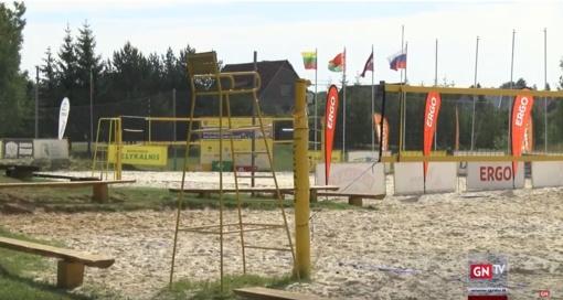 """Naujos pramogos Rokiškio """"Velykalnio"""" bendruomenės parke"""