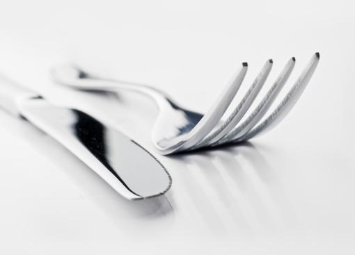 Kupiškyje vyras grasino peiliu ir šakute