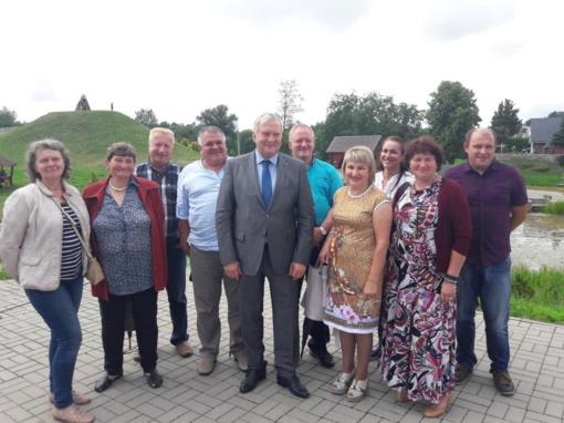 Vilkaviškio rajono atstovai dalyvavo Lietuvos pieno gamintojų asociacijos šventinėje konferencijoje