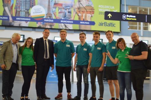 Mokinių iš Alytaus sukurta verslo idėja atstovaus Lietuvą Europos čempionate