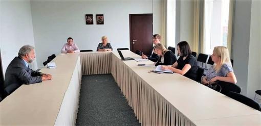 Posėdžiavo Marijampolės greitosios medicinos pagalbos stoties stebėtojų taryba