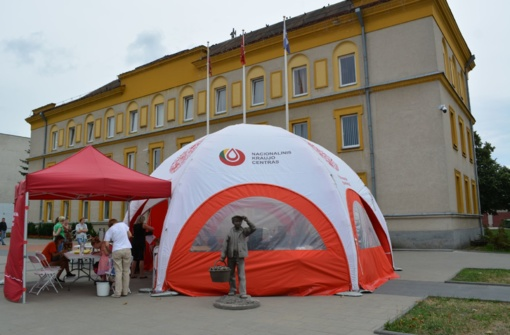 Pilietiškoje kraujo donorystės akcijoje dalyvavo nemažai varėniškių