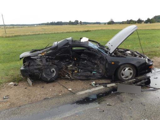 Druskininkuose susidūrus trims automobiliams sunkiai sužalotas vieno jų vairuotojas (papildyta nuotraukomis)