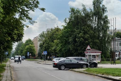 Pradedama Statybininkų gatvės rekonstrukcija