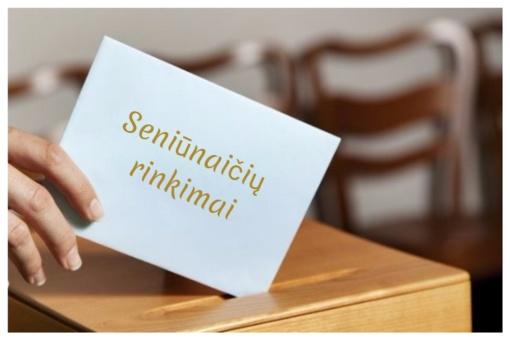 Rengiami Lukštų seniūnaitijos seniūnaičio rinkimai