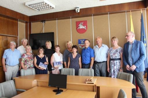 Limbažių fondo delegacijos vizitas Panevėžio rajono savivaldybėje