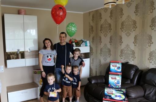 Atšventę trečiąjį gimtadienį, Karmėlavos trynukai keliaus prie jūros