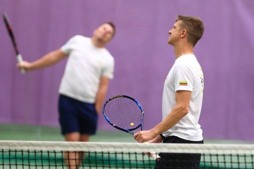 Lietuvos teniso klubų lygoje artėja lemiamų kovų etapas