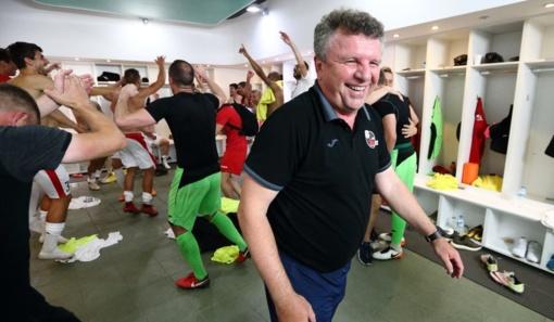 """""""Sūduvos"""" treneris V. Čeburinas: didžiuojuosi savo žaidėjais"""