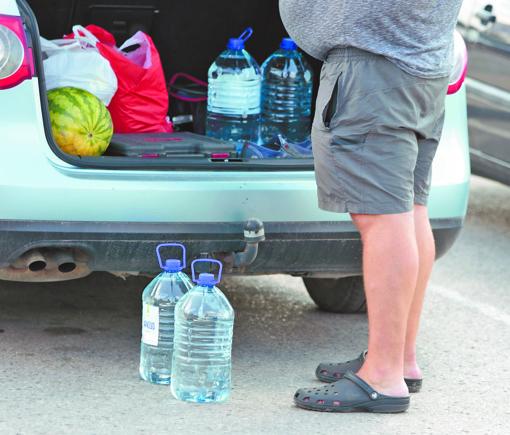 Nerimą sukėlė neįprastas vandens kvapas ir skonis
