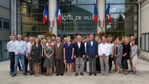 Telšiškių delegacija lankėsi Prancūzijoje