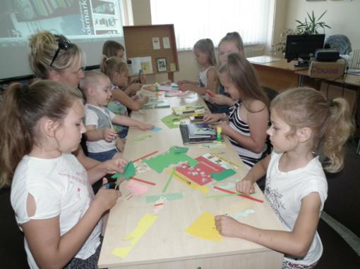 Jaunųjų skaitytojų susitikimai su pasaka Vilkyčių bibliotekoje