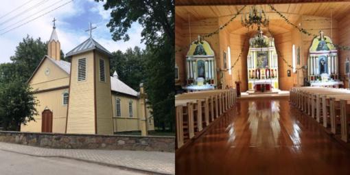 Atnaujinamos Kupiškio rajono bažnyčios