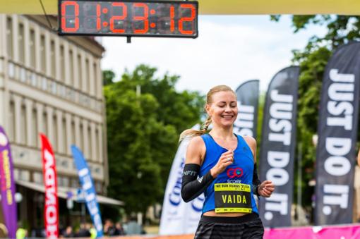 """Maratono Vilniuje rekordininkė Vaida Žūsinaitė: bėgti """"namų"""" maratoną visuomet lengviau"""
