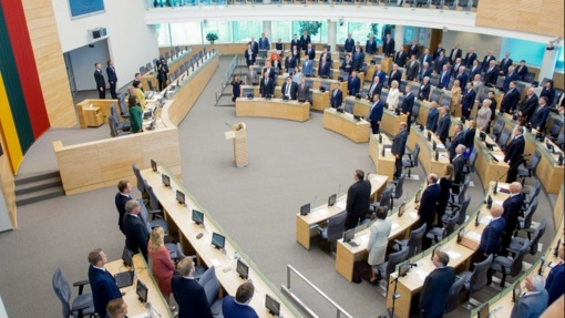 Seime vyks tarptautinė Europos jaunimo parlamento sesija