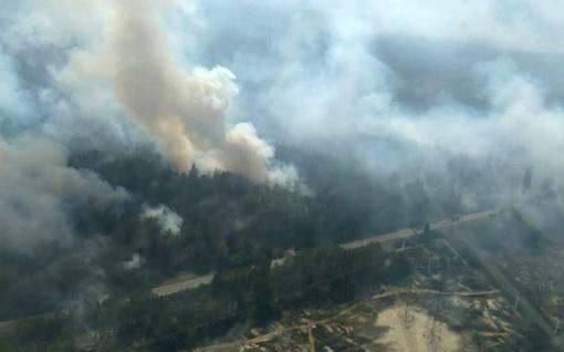 Dėl Latvijoje degančių miškų kyla pavojus mažeikiškių sveikatai