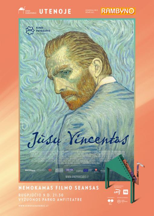 Nemokamas kino seansas Utenoje: tapytas filmas apie Vincentą Van Goghą