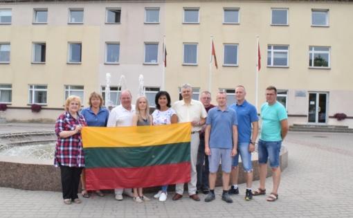 Klaipėdos rajono savivaldybės delegacija sveikins Mardu miestą!