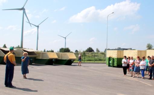 Seirijuose – nauja didelių gabaritų ir kitų atliekų surinkimo aikštelė